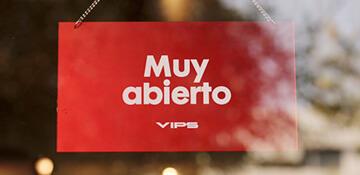 VIPS<span> Muy abierto <span/>